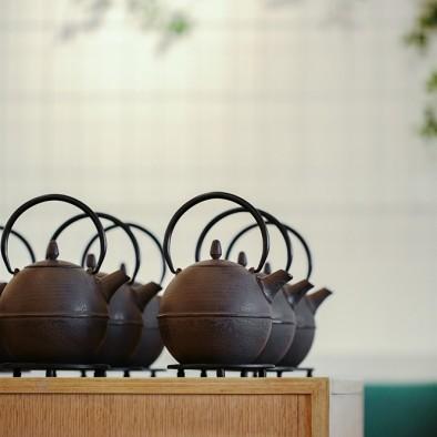 一间茶阁,茶香满溢