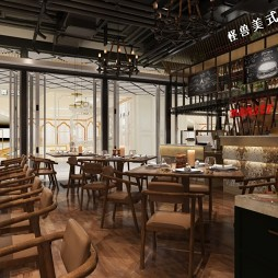 【吳軍設計】怪獸美式餐廳設計_3801870