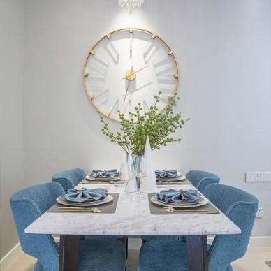 『九桁设计』德州四季印象111样板间——餐厅图片