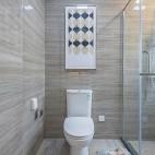 『九桁设计』德州四季印象111样板间——卫生间图片