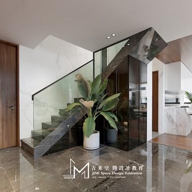 【吉米设计】复式——楼梯图片