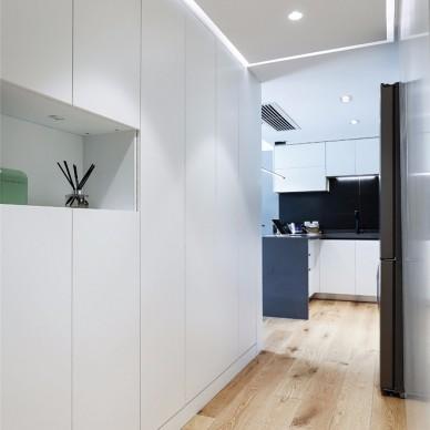 厨房变卧室,变一个绅士品格的家_3804757