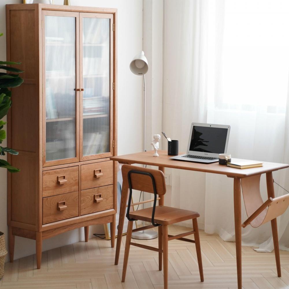 书房选用这些实木家具,打造阅读新体验功能区日式功能区设计图片赏析