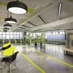 【吉米设计】健身房——休息咨询区设计图