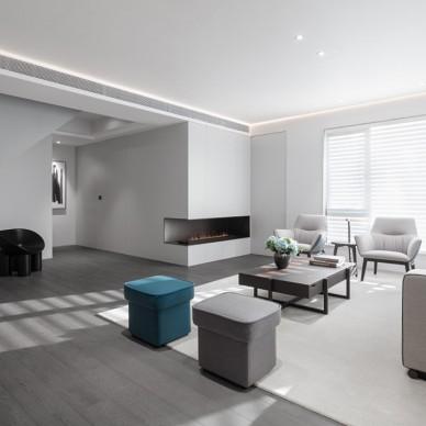 《一度灰的优雅》——客厅图片