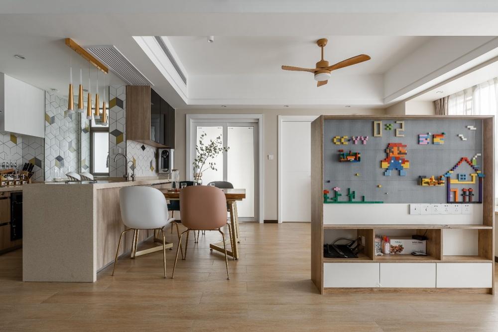 90多㎡的的房子装出了120㎡的既视感客厅现代简约客厅设计图片赏析