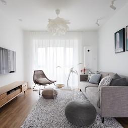 90平米日式风格——客厅图片