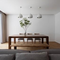 200平米现代简约餐厅设计图