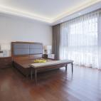 180平中式居所,古朴大气淡雅自然——卧室图片