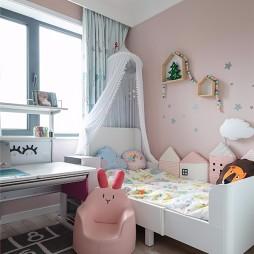 70平米北欧极简儿童房图片