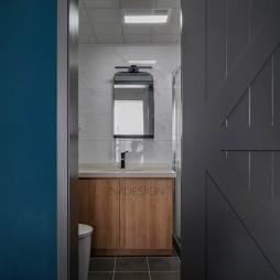 94平米现代简约——卫生间图片