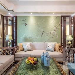 中式现代—方寸之间,繁花似锦,皆是雅韵——客厅图片