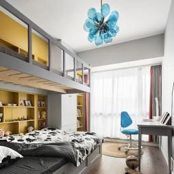 薄荷设计《以现代轻奢美学诠释新贵生活》——儿童房图片