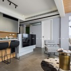 灰度—90平米现代简约——客餐厅图片