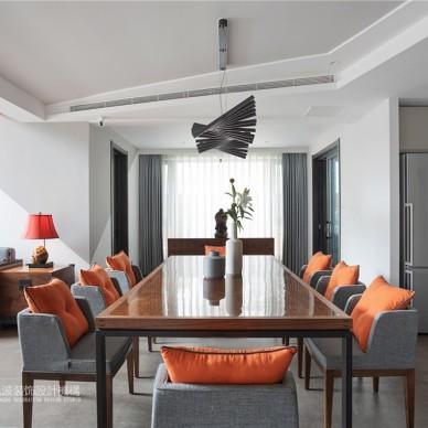 別墅裝修設計,日光傾城 ,演繹穩穩的幸福——客餐廳圖片