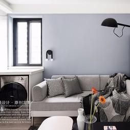 明亮简洁的北欧——客厅图片