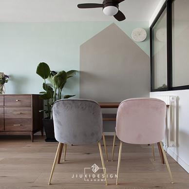 三段式8m储物墙,长条客厅的高效利用法_3820800