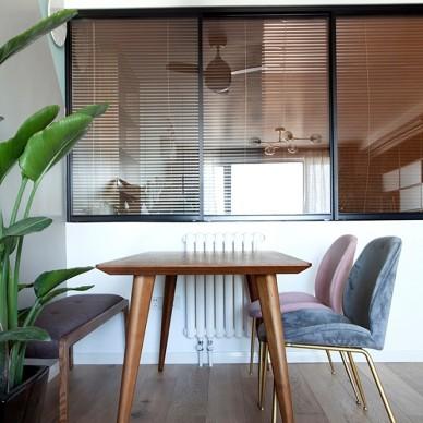 三段式8m储物墙,长条客厅的高效利用法_3820799