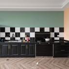 204平米潮流混搭——厨房图片