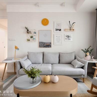 邂逅小时光——沙发背景图