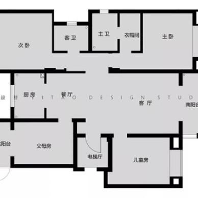 壹夲設計 |『秋实』五矿晏山居简约美式_3826615