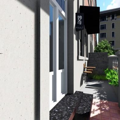峰阁空间设计——五大道奶茶店