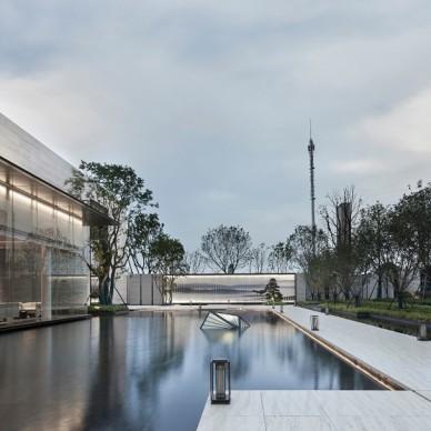 易和新作 | 华润武汉梧桐湖售楼处——外观图片