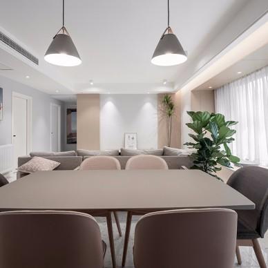 141平米現代簡約——餐廳圖片