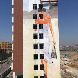 重庆高楼外墙彩绘|万州高楼外墙手绘墙_3832185