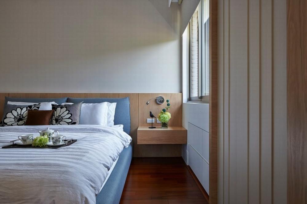 遂川县丨套房丨二手房丨旧房翻新丨装修设计卧室床头柜2图日式卧室设计图片赏析