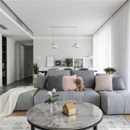 巧用黑白灰,打造简约而不简单的北欧风——客厅图片