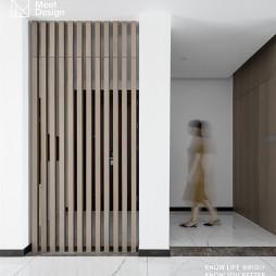 现代简约三居——玄关设计图