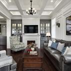 这个美式别墅温馨又温馨_3839065