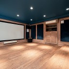400平米美式经典——影音室图片