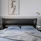 142平米现代简约卧室设计图