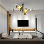 现代轻奢风——客厅图片