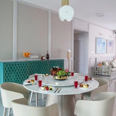 富春山居,感受家的纯净和舒适——餐厅图片