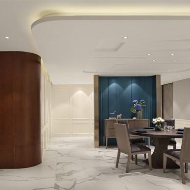 600平米復式住宅——餐廳圖片