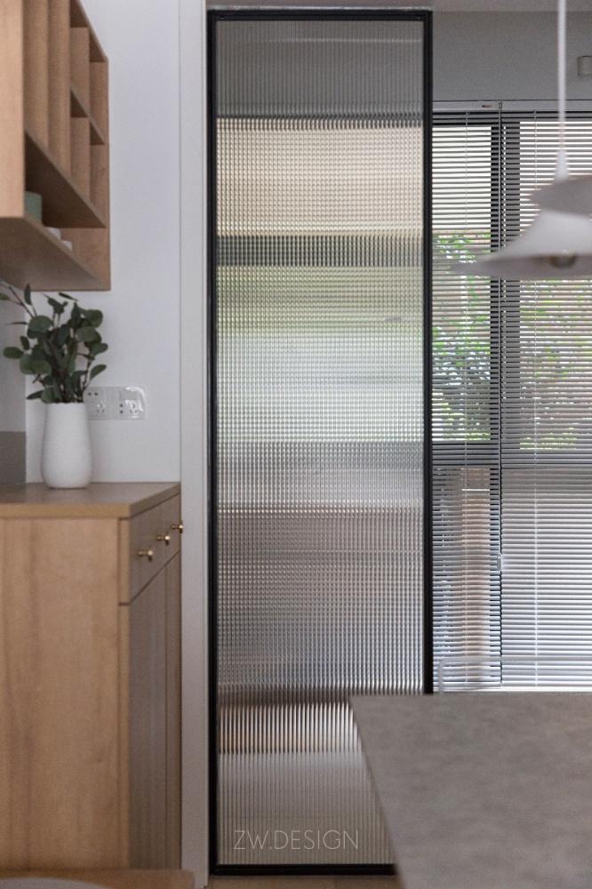 改造个过道,浴缸冰箱统统拿下厨房日式餐厅设计图片赏析