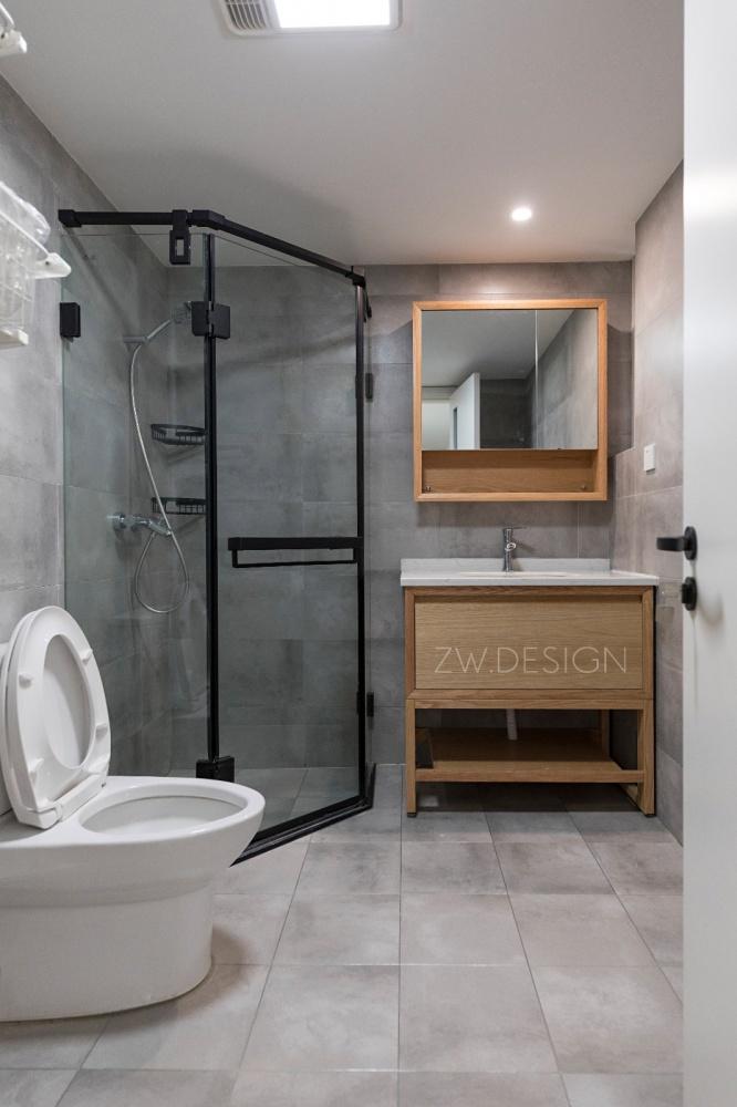 改造个过道,浴缸冰箱统统拿下卫生间日式卫生间设计图片赏析