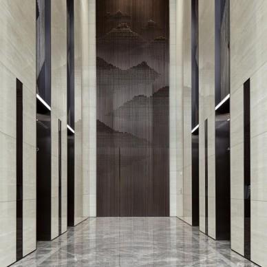 壹方中心A塔大堂——电梯区图片