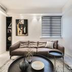 color block,我的现代简约乐园——沙发背景图