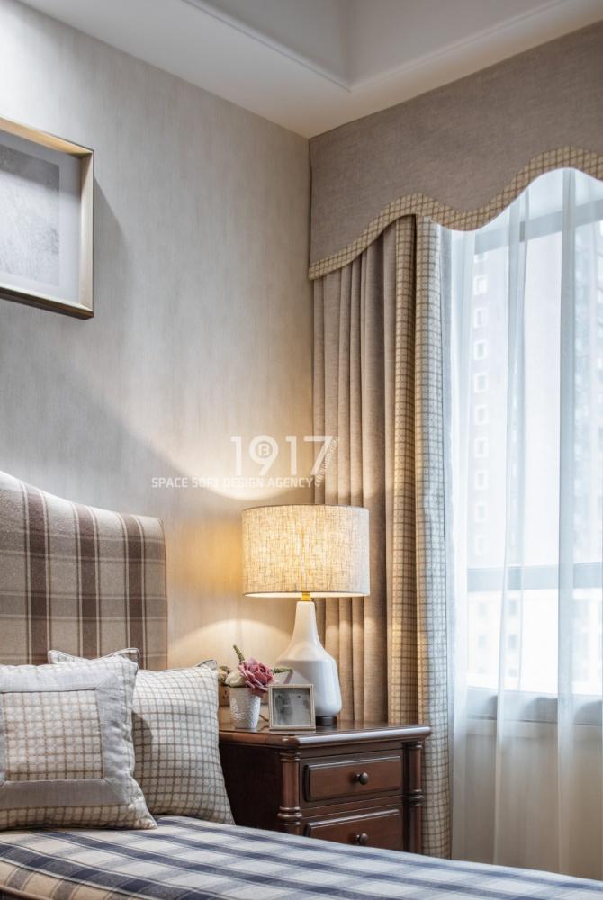 斜阳慢时光,恒美如初见卧室美式田园卧室设计图片赏析