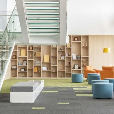 杰恩设计|打造泰康在线职场办公空间设计