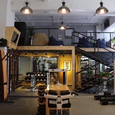 不要千篇一律,健身房也可以很咖啡~_3852376