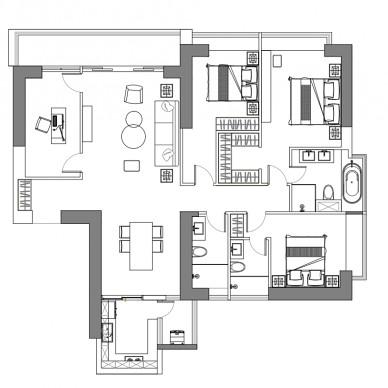 设计可以让你的房子月租3w+ 依旧抢手_3853507
