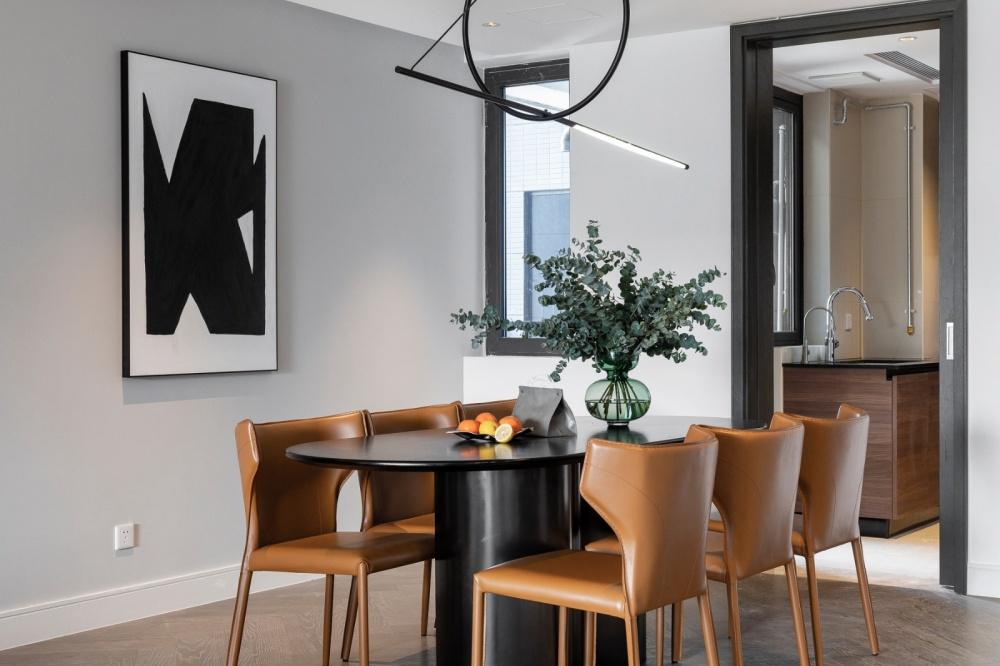 设计可以让你的房子月租3w+依旧抢手厨房现代简约餐厅设计图片赏析