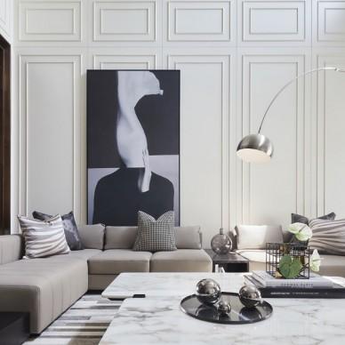 优雅又时髦的现代摩登风范——客厅图片