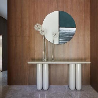 优雅又时髦的现代摩登风范——玄关图片