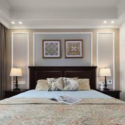127平米美式田园——卧室图片